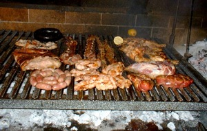 Argetine Parilla - delicious grilled meats and sides