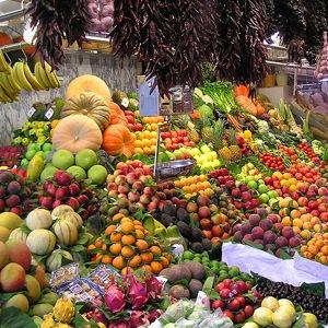 Fruit Market Courtesy of Megodenas