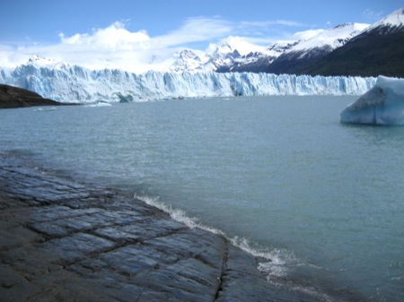 Perito Moreno Glacier from a distance