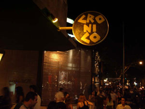Cronico Bar in Plaza Serrano, Buenos Aires