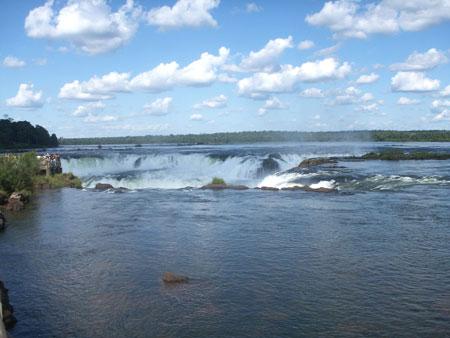 Iguazu Falls from up top