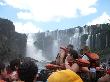 Taken from the Iguazu boat ride