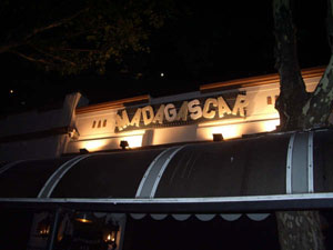 Madagascar Bar in Plaza Serrano, Buenos Aires