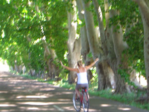 Mendoza wine country by bike