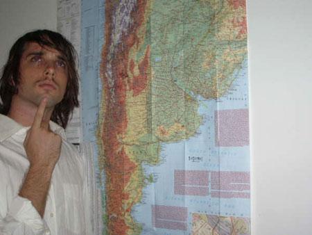 Oliver Hartman finds Argentina