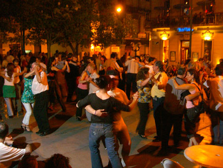 Tango in San Telmo - an evening Milonga.