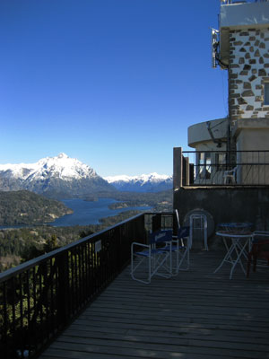 Beautiful views from a Bariloche Balcony