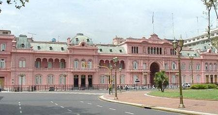 La Casa Rosada in Buenos Aires, Argentina