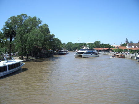 El Tigre Delta, an oasis day trip outside Buenos Aires, Argentina.