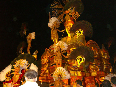 Carnival float at Gualeguaychu