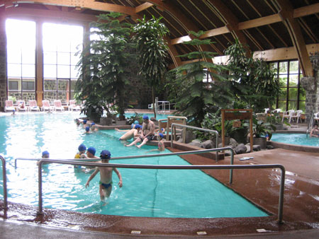 Pucon, Chile indoor hotsprings